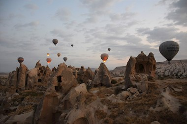 Vilinski dimnjaci, svemirska prostranstva, Kapadokija i ja